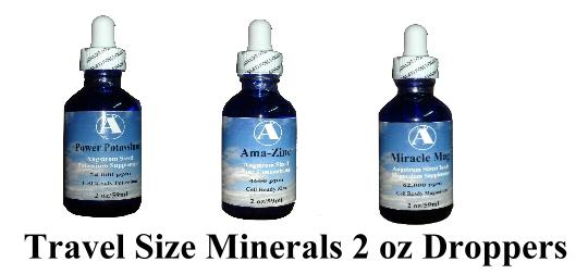 Travel Size Minerals